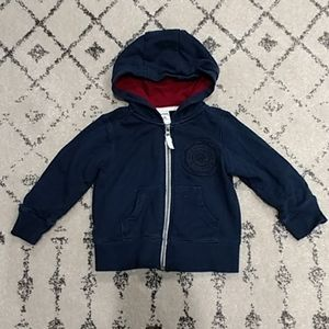 Carter's Toddler Boys French Terry Hoodie 2T Navy
